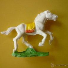 Figuras de Goma y PVC: FIGURA CABALLO ROJAS Y MALARET. Lote 107579011