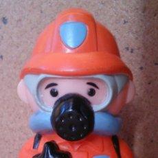 Figuras de Goma y PVC: FIGURA BOMBERO SIN MARCA. Lote 51671724