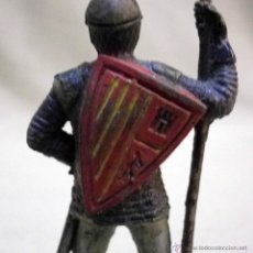 Figuras de Goma y PVC: FIGURA DE GOMA, SERIE CABALLEROS CRUZADOS, MEDIEVAL REAMSA, 1950S. Lote 51705841