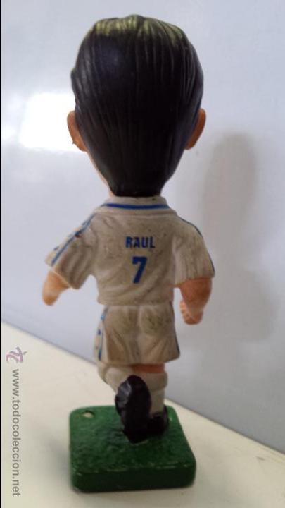 Figuras de Goma y PVC: FIGURA FÚTBOL BANDAI 1997 - RAÚL - ENVÍO GRATIS A ESPAÑA - Foto 3 - 51791596