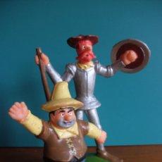 Figuras de Goma y PVC: FIGURA DON QUIJOTE Y SANCHO PANZA REAMSA AÑOS 70. Lote 51880966