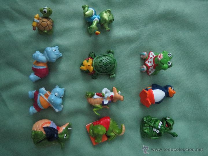 VARIAS FIGURAS DE HUEVOS KINDER FERRERO AÑOS 90 (Juguetes - Figuras de Gomas y Pvc - Kinder)