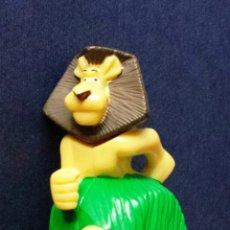 Figuras de Goma y PVC: FIGURA PREMIUM LEÓN PROMOCIONAL PROMOCIÓN PUBLICIDAD PELÍCULA MADAGASCAR NESTLÉ 2005. Lote 52016331