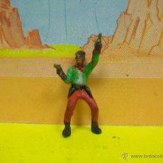 Figuras de Goma y PVC: FIGURA VAQUERO STARLUX AÑOS 50 . Lote 52125765