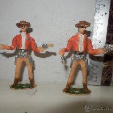 Figuras de Goma y PVC: VAQUEROS COMANSI. Lote 52127697