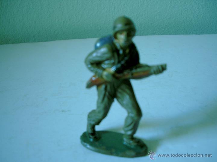 SOLDADO AMERICANO EN GOMA JECSAN (Juguetes - Figuras de Goma y Pvc - Jecsan)