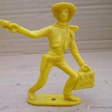 Figuras de Goma y PVC: PISTOLERO ATRACADOR DE BANCOS DE COMANSI. Lote 52296693