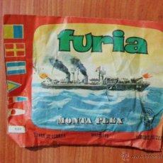 Figuras de Goma y PVC: SOBRE SORPRESA MONTAPLEX 'FURIA, BUQUES DE GUERRA'.. Lote 52309462