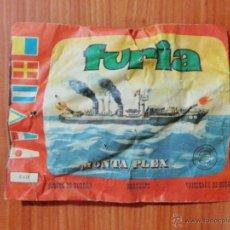 Figuras de Goma y PVC: SOBRE SORPRESA MONTAPLEX 'FURIA, BUQUES DE GUERRA'.. Lote 52309474
