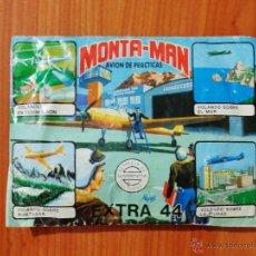 Figuras de Goma y PVC: SOBRE SORPRESA MONTAPLEX 'MONTAMAN, AVIÓN DE PRACTICAS, EXTRA 44'.. Lote 52314388