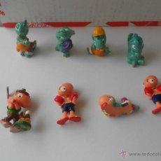 Figuras Kinder: 8 FIGURAS HUEVO KINDER SORPRESA FERRERO VER MAS FIGURAS KINDER. Lote 52318814