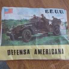 Figuras de Goma y PVC: E.E.U.U. DEFENSA AMERICANA. Lote 52322402