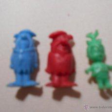 Figuras de Goma y PVC: FIGURAS DUNKIN PREMIUM ORIGINAL LOS PICAPIEDRA PEDRO PICAPIEDRA PEBBELS. Lote 52364870