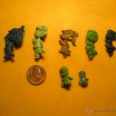 Figuras de Goma y PVC: LOTE FIGURA PINS PIPERO CHURRUCA FAMILIA TELERIN MUY BUEN DUNKIN ESTADO VER FOTOS. Lote 52390556