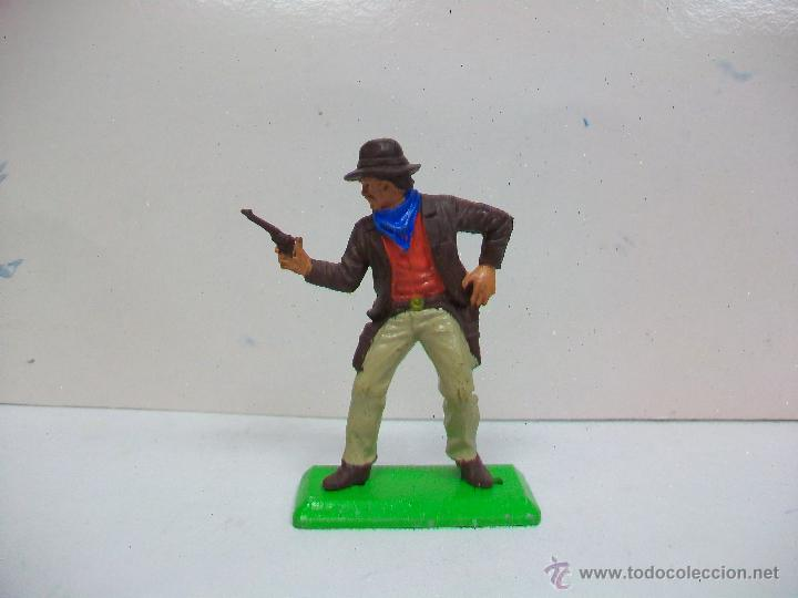 FIGURA VAQUERO BRITAINS - PRIMERA GENERACION (Juguetes - Figuras de Goma y Pvc - Britains)