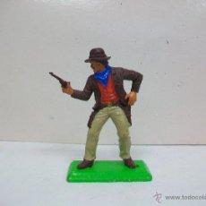 Figuras de Goma y PVC: FIGURA VAQUERO BRITAINS - PRIMERA GENERACION. Lote 52378397