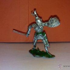 Figuras de Goma y PVC: FIGURA DE SOLDADO MEDIEVAL DE 5 CM LAFREDO AÑOS 60. Lote 52520293
