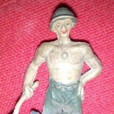 Figuras de Goma y PVC: PRISIONERO PUENTE RIO KWAI JECSAN. Lote 52554607