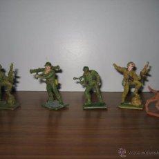 Figuras de Goma y PVC: FIGURAS DE SOLDADOS REAMSA,GOMARSA AÑOS 70. Lote 52555139