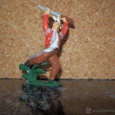Figuras de Goma y PVC: INDIO COMANSI OESTE. Lote 52578959