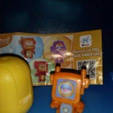Figuras Kinder: KINDER SORPRESA FT041 C ROBOT BPZ MIXART FT041C NARANJA FERRERO. Lote 52589240