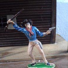 Figuras de Goma y PVC: VAQUERO DE JECSAN . Lote 52611150