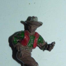 Figuras de Goma y PVC: VAQUERO DE LAFREDO EN GOMA, TAL COMO SE VE EN LAS FOTOGRAFIAS PUESTAS.. Lote 52675234