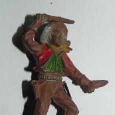 Figuras de Goma y PVC: VAQUERO DE LAFREDO EN GOMA, TAL COMO SE VE EN LAS FOTOGRAFIAS PUESTAS.. Lote 52675250