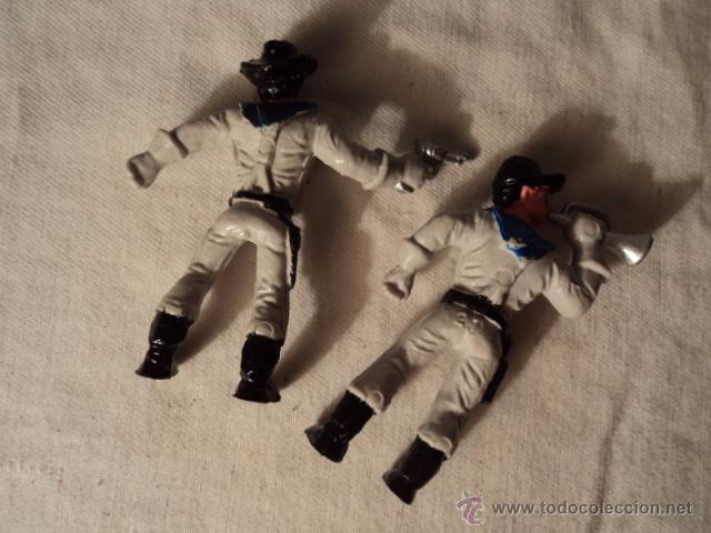 Figuras de Goma y PVC: 2 ANTIGUAS FIGURAS EJERCITO AMERICANO SURESTE ORIGINAL AÑOS 70/80 . R30 - Foto 2 - 52757221