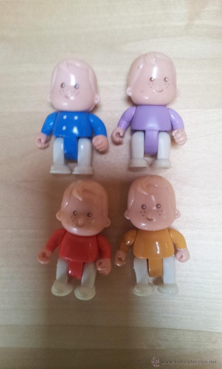 LOTE DE NIÑOS ESTILO PIN Y PON (Juguetes - Figuras de Goma y Pvc - Otras)