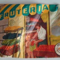 Figuras de Goma y PVC: SOBRE MONTAPLEX FRUTERIA. AÑOS 70.--N. Lote 52765685