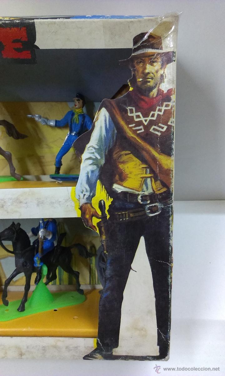 Figuras de Goma y PVC: RUTAS DE OESTE . FEDERALES . COMANSI REF 29 . CAJA ORIGINAL - Foto 5 - 52779853