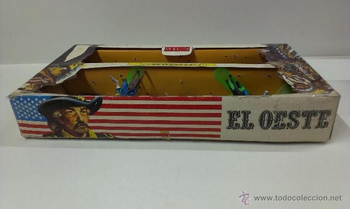 Figuras de Goma y PVC: RUTAS DE OESTE . FEDERALES . COMANSI REF 29 . CAJA ORIGINAL - Foto 9 - 52779853