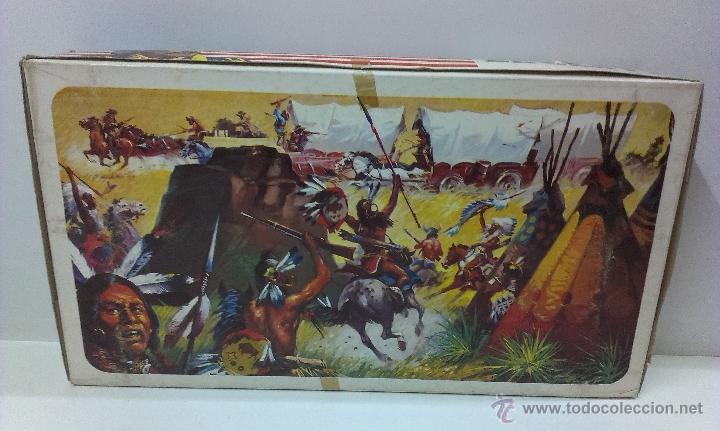 Figuras de Goma y PVC: RUTAS DE OESTE . FEDERALES . COMANSI REF 29 . CAJA ORIGINAL - Foto 11 - 52779853