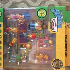 Figuras de Goma y PVC: LOTE FIGURAS THE SIMPSONS COLLECTOR SET GREETINGS FROM SPRINGFIELD GOLDEN LISA EVERGREEN TERRACE. Lote 52782586
