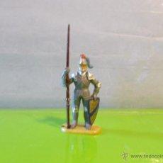 Figuras de Goma y PVC: HISTOREX ELASTOLIN SERIE 4 CM CABALLERO MEDIEVAL REF 8937/4 IDEAL EXIN CASTILLOS ORIGINAL 70'S. PTOY. Lote 52841286