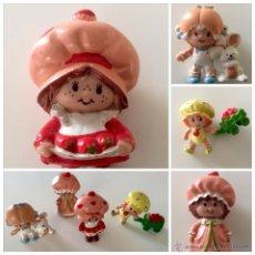 Figuras de Goma y PVC: ENVÍO 8€. MUÑECA/MUÑECOS TARTA DE FRESA, STRAWBERRY SHORTCAKE, FIGURA/FIGURAS DE PVC, AGC 1981/1982.. Lote 52884500