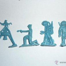 Figuras de Goma y PVC: CURIOSAS FIGURA ASTRONAUTA GUERRERO DEL ESPACIO NAVE ESTACION ESPACIAL . PREMIUM PLASTICO. Lote 52926330