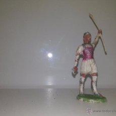 Figuras de Goma y PVC: 918- SOLDADO,INDIO,VAQUERO,OTROS AÑOS 50-60? REF 138. Lote 52933179