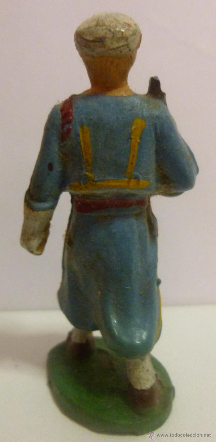 Figuras de Goma y PVC: Muñeco de goma, soldado arabe marca Starlux - Foto 2 - 52934466