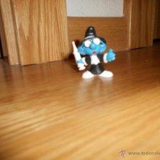 Figuras de Goma y PVC: MUÑECO FIGURA PITUFO FILOSOFO O SABIO PRACTICANTE SCHLEICH PEYO PITUFOS SMURFS SMURF RARO. Lote 52942695