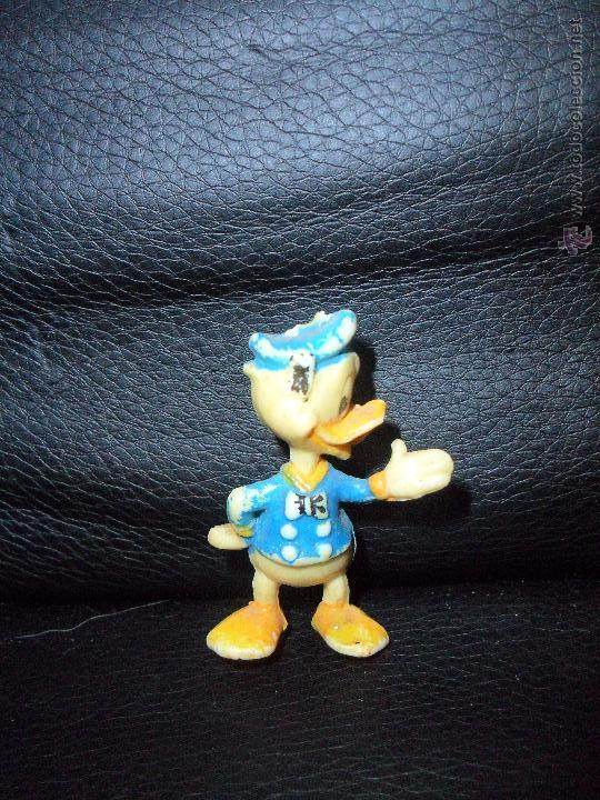 PATO DONALD FIGURA ANTIGUA, - FIGURA PVC - MARCA: WALT DISNEY PRODS. (Juguetes - Figuras de Goma y Pvc - Bully)