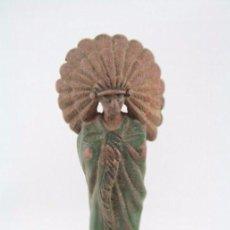 Figuras de Goma y PVC: FIGURA DE PLÁSTICO - REAMSA. JEFE INDIO. Nº 96 - MEDIDAS ALTO 7 CM. Lote 53057001
