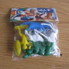 Figuras de Goma y PVC: BLISTER FIGURAS AFRICANAS, AÑOS 60. Lote 53061067