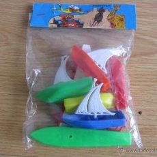 Figuras de Goma y PVC: BLISTER BARCOS SERJANBOYS AÑOS 70. Lote 53061109