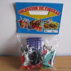 Figuras de Goma y PVC: BLISTER AÑOS 60 COLECCIÓN DE FIGURAS DE GRANJA. Lote 53063561
