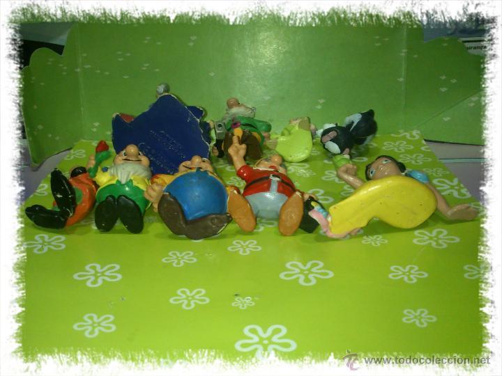 Figuras de Goma y PVC: LOTE DE 9 PVC DE BLANCANIEVES Y LOS SIETE ENANITOS DE DISNEY - COMICS SPAIN Y BULLYLAND, AÑOS 80s - Foto 3 - 53093212