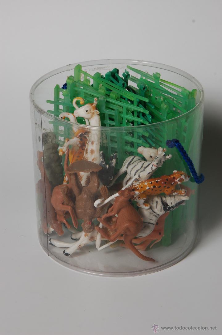 Figuras de Goma y PVC: ZOO COMANSI, FIGURAS DE ANIMALES Y JAULAS (19 TRAMOS) - Foto 3 - 53098985