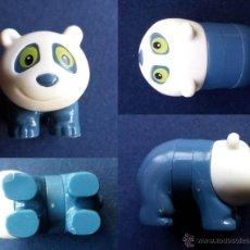 Figuras Kinder: PEQUEÑA FIGURA FIGURITA OSO PANDA KINDER . Lote 53168110