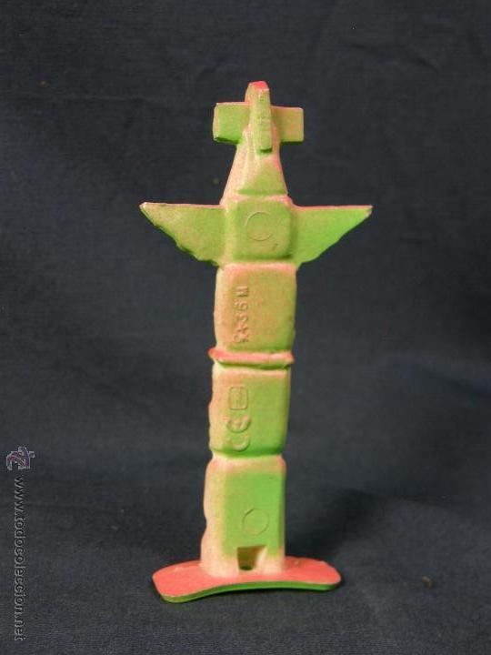 Figuras de Goma y PVC: COMANSI TOTEM verde rosa PINTADO REF346 - Foto 4 - 53194529